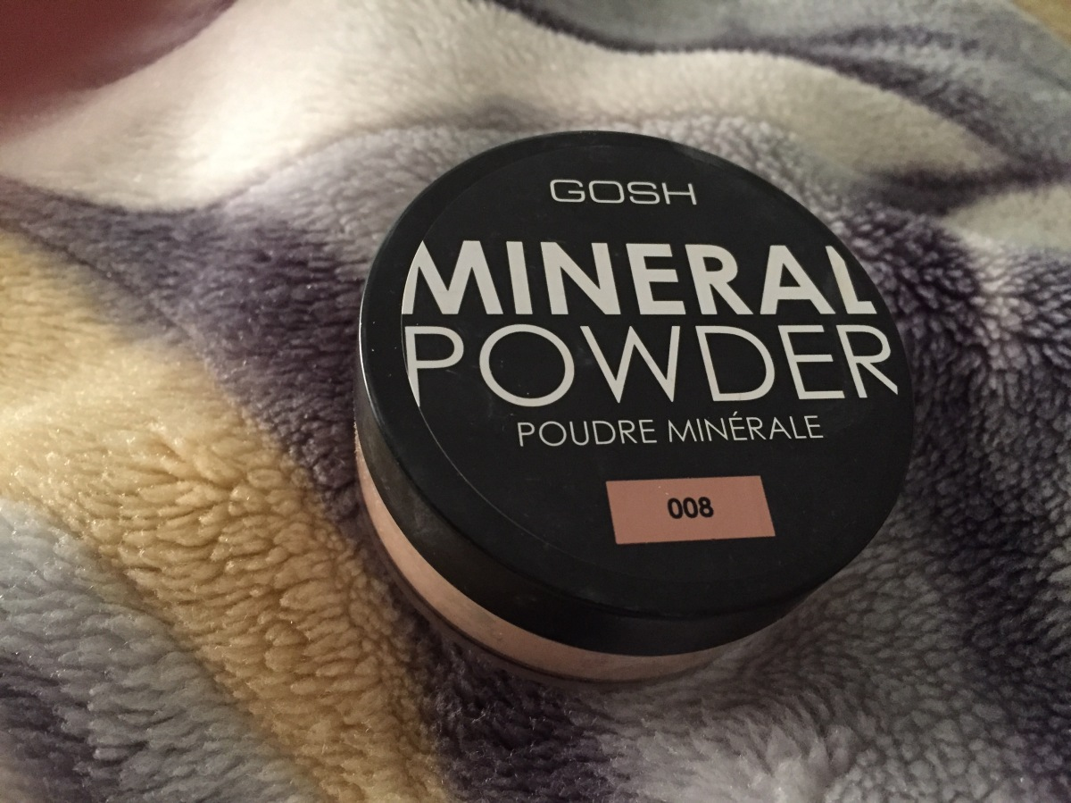 For a change: GOSH Mineral Powder