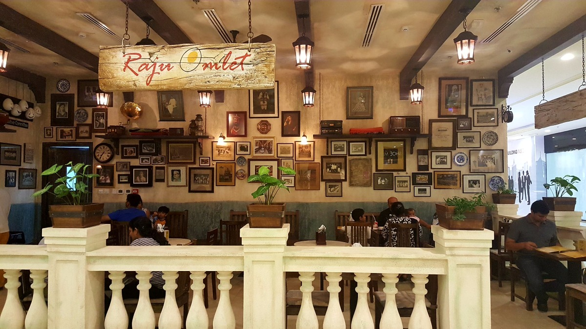 INVITED REVIEW: Raju Omlet has reached in Safeer Mall (New Branch)