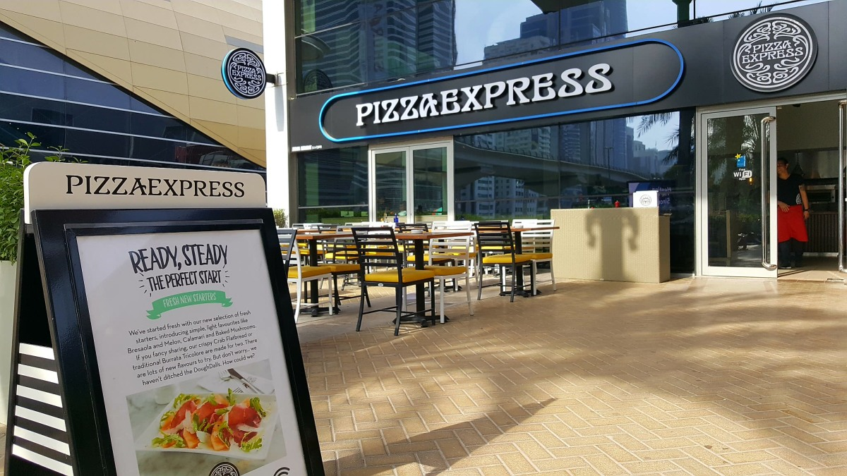 INVITED REVIEW: Were you aware of the New Menu launched by PizzaExpress?