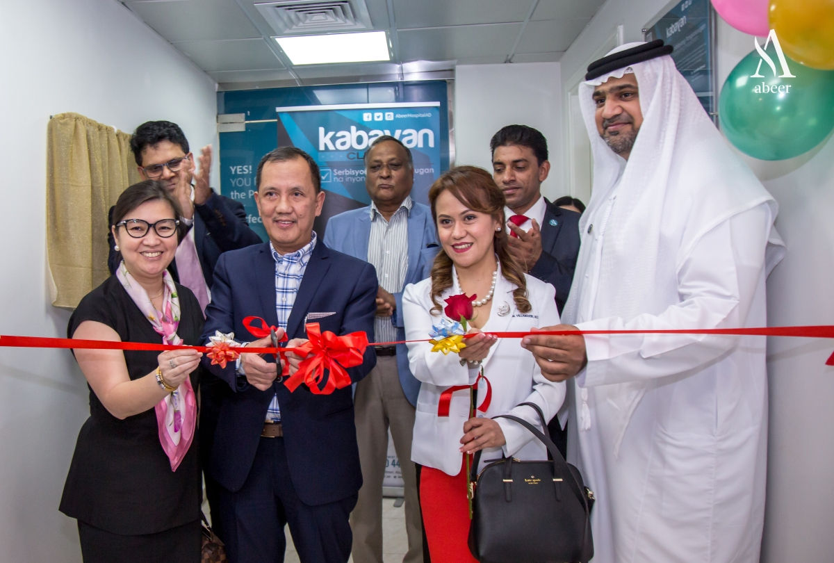(Sponsored) It was a successful event during the opening of Kabayan Clinic - Al Raha Hospital