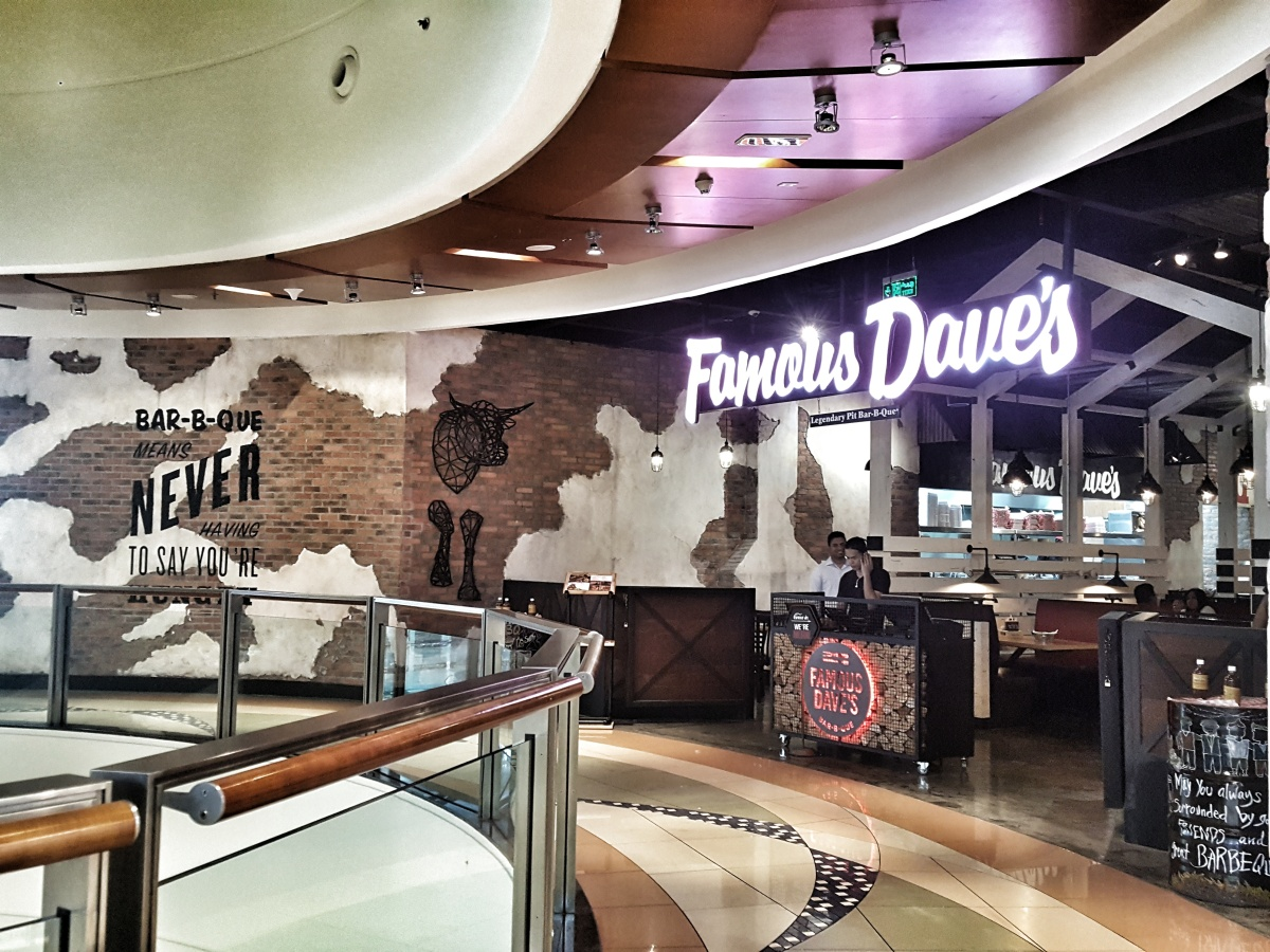 INVITED REVIEW: Yet another branch has been opened for Famous Dave's