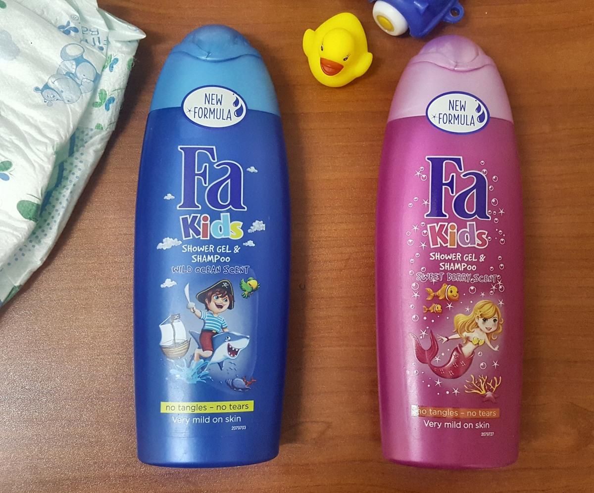 Free Evaluation: FA Kids Shower gel & Shampoo in New Formula