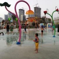 The Mini Splash in Al Majaz Waterfront, Sharjah